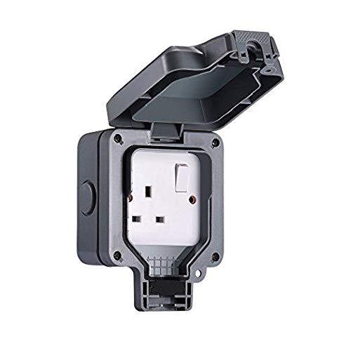 Wintex Weatherproof Outdoor Switch  U0026 Socket Price In Uae