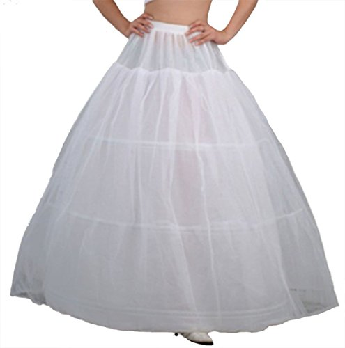 Bridal Wedding Petticoat Skirt Dress (V.C.Formark Crinoline Underskirt Petticoat Half slip for Wedding Bridal Dress)