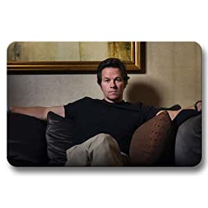 Top Fabric Doormat Non Skid Mat Rug Mark Wahlberg Floor Door 16x24Inch / 40x60cm