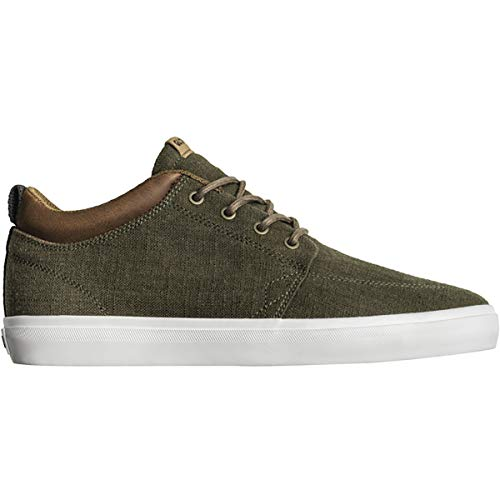 Globe Men's GS Chukka Skate Shoe Olive Hemp 9.5 Medium ()
