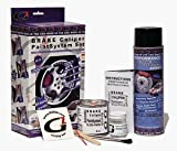 High Temperature High Gloss Self Leveling Brush On Gold G2 Brake Caliper Paint System Kit