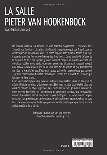 La Salle Pieter van Hookenbock (French Edition)