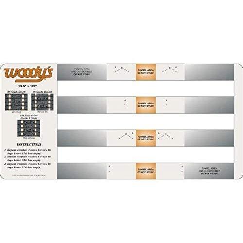 - International Engineering Woodys Studding Templates - Artic Cat 252S-TEMP