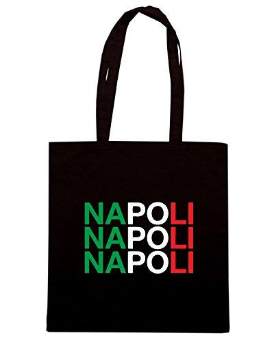 T-Shirtshock - Bolsa para la compra WC0503 NAPOLI Negro