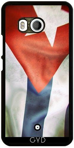 Funda para Htc U11 - Cuba Bandera Ondeando by GiordanoAita
