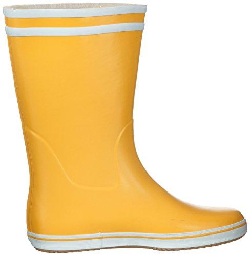 Aigle MALOUINE JAUNE/BLANC - Botas de agua de goma mujer amarillo - Gelb (jaune/blanc)