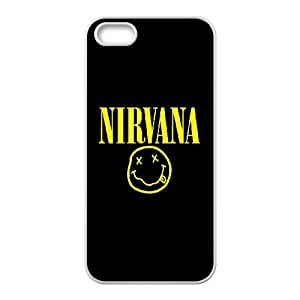 American Rock band Nivana poster Hard Plastic phone Case Cover For Apple Iphone 5 5S Cases XFZ417220