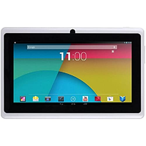 ibowin P740 7 Inch Allwinner A33 1280x800 Resolution 8G Quad Core CPU Tablet PC Bluetooth 2Cameras (White) Coupons