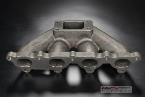 Godspeed Civic CRX D15 D16 T3 T3t4 Flange Cast Turbo Manifold Will Fit All Turbonetics / Godspeed / Garrett / KKK / Cxracing / Precision Turbo