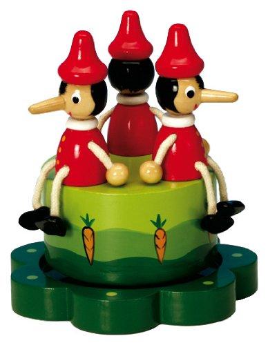 Spieluhrenwelt Boîte à Musique Pinocchio en bois. 43771