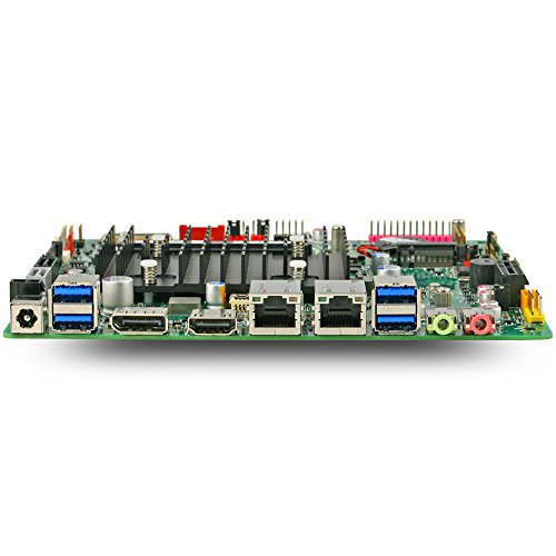 Mitac PD10AI MT Intel Apollo Lake Thin Mini-ITX Motherboard with Dual Intel LAN and DC-DC Power by Mitac (Image #2)