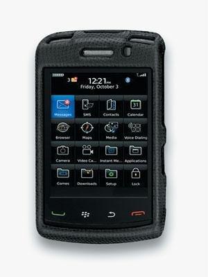 Body Glove Glove Snap-On Case for 9550 BlackBerry Storm 2 - Black - Glove Body Blackberry