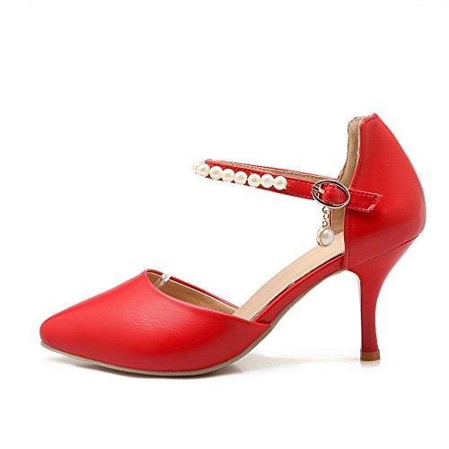 Rouge Sandales AN fermé Sandales DIU00629 uréthane à en pour femmes Huarache bout 7PqC7R