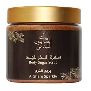 Bayt Al Saboun Al Loubnani Body Sugar Scrub Al Sharq Sparkle, 500 G