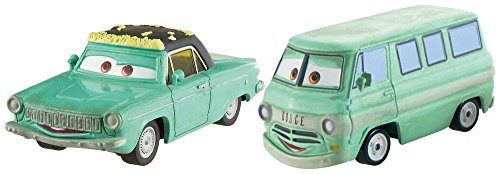 Disney Pixar Cars Diecast Character Car 2-Pack, Rusty & Dusty from Disney Cars Toys