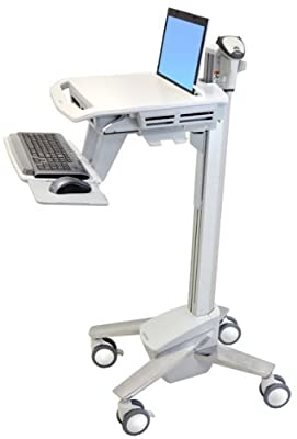 Ergotron StyleView EMR Laptop Cart, SV40 SV40-6100-0