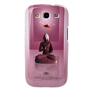 HP DF IMD Tecknical Buddhism Series Purple Plastic Hard Case for Samsung Galaxy S3 I9300