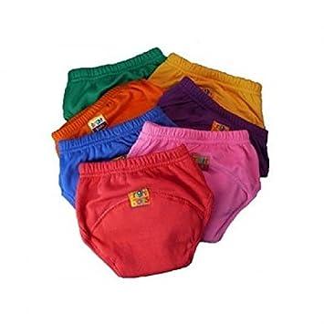 Bright Bots lavable/ /Pantalones de entrenamiento para el orinal morado morado Talla:Medium /última versi/ón Pul todos los colores up to approx 24 months