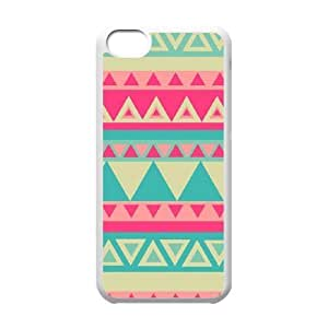 LJF phone case Aztec Tribal Pattern Unique Fashion Printing Phone Case for Iphone 5C,personalized cover case ygtg537305