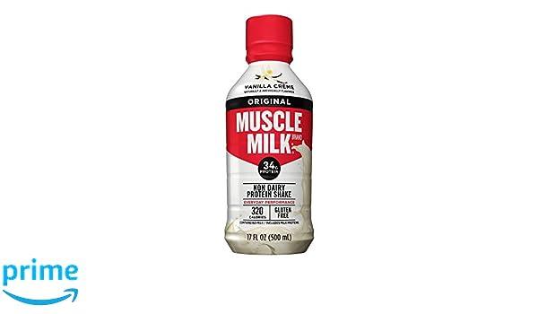 Cytosport Muscle Milk RTD Vanilla Creme - 12 Unidades: Amazon.es: Salud y cuidado personal