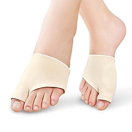 acmebuy (TM) 2pcs cuidado de pies juanete separador de dedos pantalla pie de silicona