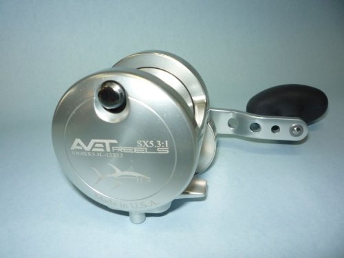 Avet SX5.3MCLH-SI Reels Saltwater Lever Drag -  Pro-Motion Distributing - Direct