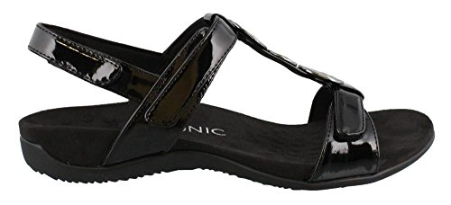 Vionic Womens farra Synthetic Sandals Black EoTxPyBqP