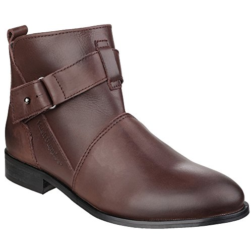 Hush Puppies Dames / Dames Vita Band Detail Enkellaars Chocoladebruin