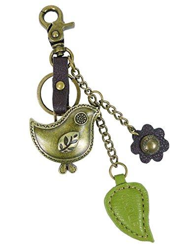 Chala Purse Charm, Key Fob, keychain Decorative Accessories, Bird