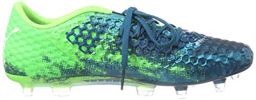 Lagoon puma Homme green Deep Future 18 1 Puma Chaussures Gecko White AG Netfit FG Football Low de Bleu 6qOagxa