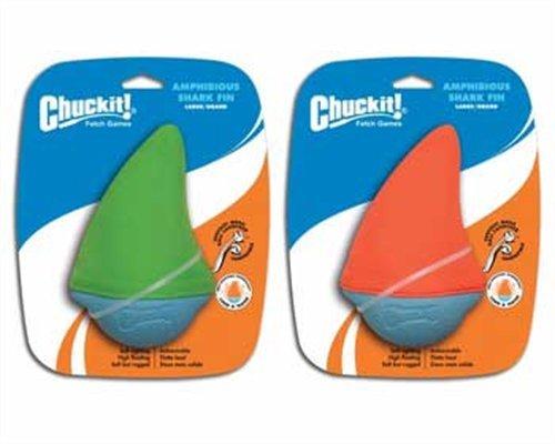 Chuckit Large Amphibious Shark Fin (Colors Vary), My Pet Supplies