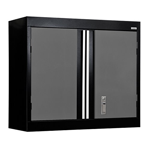 Black Wall Storage Cabinet - 4