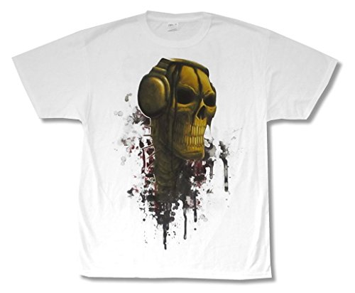 Korn DJ Death 2010 Karnage White T Shirt Adult (XL) (Printed T-shirts Korn)