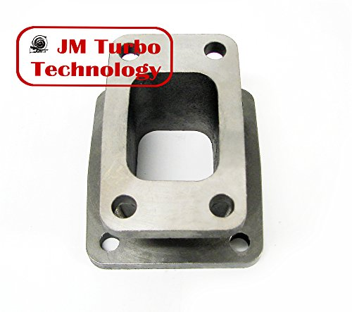 T3 to T4 Turbo Manifold Flange Adapter Conversion Cast - T3 Turbo T4