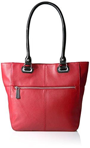 tignanello-perfect-pockets-medium-tote-rouge-black