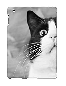 Freshmilk High Quality Shock Absorbing Case For Ipad 2/3/4-cats Animals Funny Surprise Dramatic Look