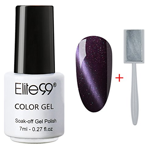 Elite99 Magnetic Polish Glitter Purple