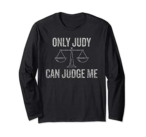 Only Judy Can Judge Me T-shirt Halloween Christmas Funny -