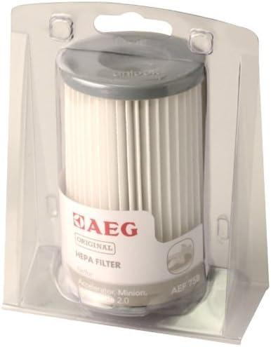 AEG AEF 75 B - Filtro HEPA lavable para aspiradoras AEG ...