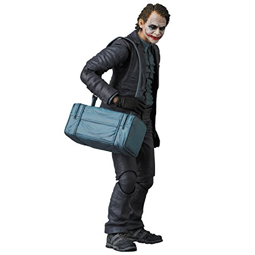 Medicom The Dark Knight: The Joker Maf Ex Action Figure (Bank Robber (Joker Bank Robber Mask)