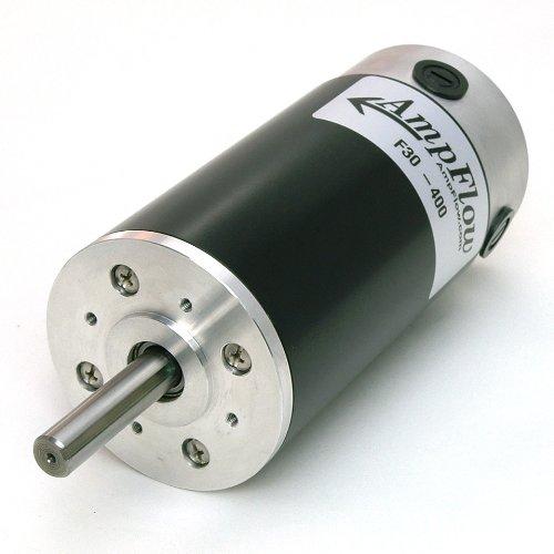 Image of Permanent Magnet Motors AmpFlow F30-400 Brushed Electric Motor, 12V, 24V or 36 VDC, 4500 RPM