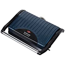 Taurus Grill & Toast Sandwichera, 700 W, Placas de Grill Antiadherentes, Color Azul y Negr