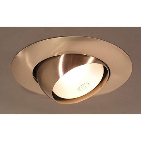 8 x 8 recessed light in brushed nickel recessed light fixture 8quot x 8quot recessed light mozeypictures Gallery