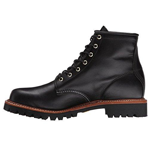 Chippewa Mens 1901G32 Leather Boots Black