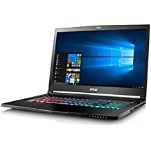 MSI GS73VR 7RF Stealth Pro-225US Signature Edition Gaming Laptop • 17.3-inch Full HD display • Intel Core i7-7700HQ • 16GB memory/2TB HDD + 256GB SSD • VR-ready NVIDIA GeForce GTX 1060 graphics
