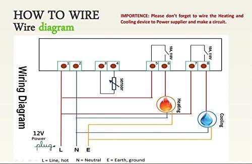 lerway 12v digital stc 1000 temperature controller 2 relay output c rh imagingsys com ITC 1000 Wiring Diagram elitech stc 1000 wiring diagram