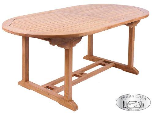 Amazon.de: Gartentisch MANADO Ausziehbar 180   240 Cm Esstisch Teakholz  Tisch Gartenmöbel Premiumqualität