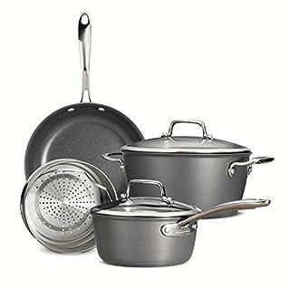 Tramontina 80123/515DS Cookware Set, 6-Piece, Gray
