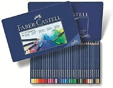 Farbstifte ART GRIP Aquarelle Faber-Castell 114212 12er Metalletui
