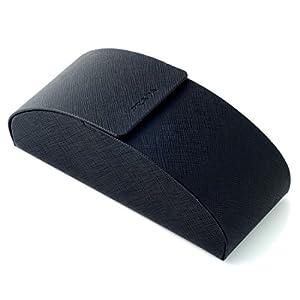 Prada Authentic Hard Eyeglass Case Large Size in Black